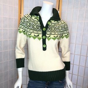 Banana Republic Fairisle Sweater